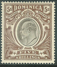 Dominica (Until 1967) Single Stamps