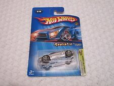 Hot Wheels 2005 First Editions Realistix Ford Shelby GR-1 Concept Chrome Silver