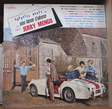 JERRY MENGO SURPRISE PARTY SANS LAISSER D'ADRESSE CAR COVER ORIG FRENCH LP
