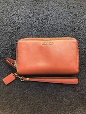 Coach Women's Wallet Pink/Red Clutch