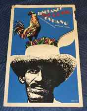 1973 Original Cuban Movie Poster + MOCKUP Painting.Punto Cubano.Cock.Rooster Art