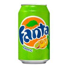 2 Fanta Exotic Soda Cans