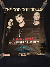 GOO GOO DOLLS-ORIGINAL TOUR POSTER-TOWER THEATER-PHILADELPHIA