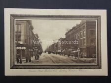 Canada LONDON Ontario DUNDAS STREET Looking West from Clarence - Old Tucks PC