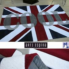 "ARTE ESPINA Teppich Handtuft Joy World Up 4128-10 ""Union Jack"" 140x200 cm NEU"