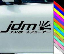 Japanese JDM Words Image Waterproof Car Door Bumper Window Decal Sticker Removab