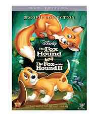 The Fox and the Hound & Fox and the Hound II DVD 2 Disc Set New Disney FREE Ship