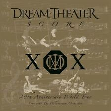 Dream Theater: Score: 20th Anniversary World Tour (Ltd Gold Coloured  {LP vinyl}