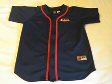 NWOT NIKE CLEVELAND INDIANS TEAM JERSEY YOUTH SIZE XL (20) STITCHED MLB JERSEY