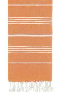 "Brand New Peshtemal Towel 100% Cotton Turkish Beach Size71""X39"