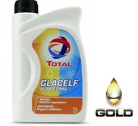 TOTAL Glacelf Auto Supra 1 Liter Kühlerfrostschutz G12 G12+ Konzentrat
