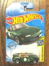 Hot Wheels 2019 GameStop '91 Mazda Miata green