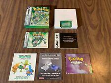 Pokemon Emerald Version (Nintendo Game Boy Advance, GBA) Complete in box