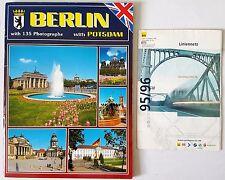 BERLIN With POTSDAM Souvenir Travel Guide Book & Maps -135 Photos Engish Edition