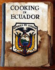 Cooking in Republica Del ECUADOR Cookbook - English Fellowship Church QUITO