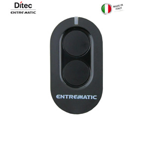 ZEN4 Ditec Entrematic Remote Control Gates Opener Made in Italy Black USA Seller