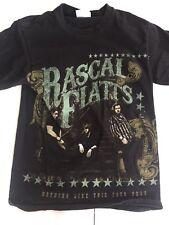 Rascal Flatts 2010 Nothing Like This Tour Black Tshirt S