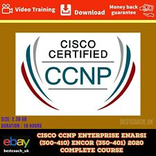 CISCO CCNP ENTERPRISE ENARSI (300-410) ENCOR (350-401) 2020 COMPLETE COURSE