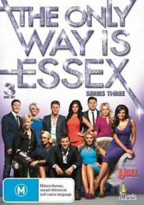 The Only Way Is Essex : Series / Season 3 (DVD, 2012, 3-Disc Set)
