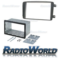 Mercedes C Class / CLK Double Din Fascia Panel Adapter Plate Cage Fitting Kit