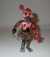 "Funko FNAF Five  Nights At Freddy's Nightmare Foxy 5"" Figure as is"