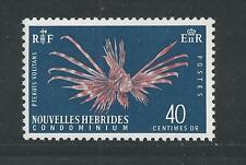 NEW HEBRIDES, FRENCH # 118 TURKEY FISH