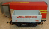 Hornby R210 - 5 Plank Wagon 'General Refractories' - Boxed
