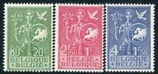 BELGIUM-1953 A Child's Welfare Fund Set Sg 1482-84 UNMOUNTED MINT V20018