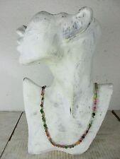 Echte Turmalin Halskette AAA Edelsteine transparent Herz Form, Karabiner  61 cm