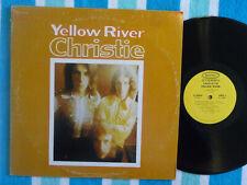 CHRISTIE Yellow River LP Epic 1970 POWER POP