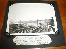 photo Peabody Hill from Tulse Hill Train Station c1933