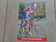 wielerkaart 1999 team cofidis  mbk  franck vandenbroucke