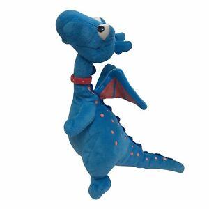 "Disney Doc McStuffins Stuffy Blue Dragon 9"" Tall Plush Stuffed Toy Fantasy Wings"