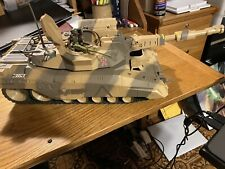 GI Joe vs COBRA Patriot Grizzly Tank 2003 Tested Working w/ Missiles Sounds