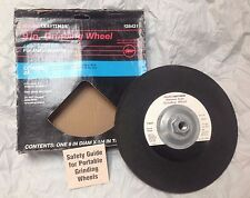 "CRAFTSMAN 9"" 24 Grit Depressed Center Metal Grinding Wheel Aluminum Oxide USA"