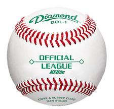 Dol-1-Nfhs-Doz Diamond Dol-1 Official League Nfhs Baseball One Dozen