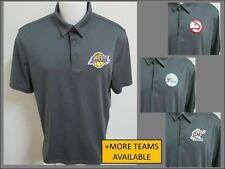 New Sz S-3XL Gray Nba Mens Polyester #517 Golf Polo Shirt