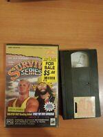 WWF The Sixth Annual Survivor Series VHS.