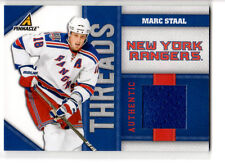 Marc Staal    Threads game used jersey card   #105/499
