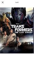 Transformers: The Last Knight (DVD 2017) NEW* Free Shipping.