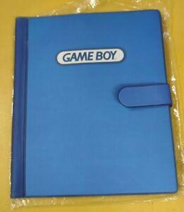 2001 Nintendo Gameboy Official Folder Carrying Case Rare BD&A New
