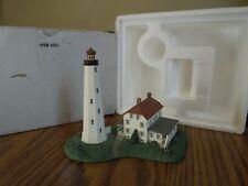 "Danbury Mint Sandy Hook Lighthouse, Sandy Hook, Nj 5"""