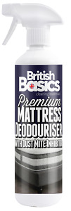 British Basics 500ml Mattress Deodoriser With Dust Mite Inhibitor Bed Bedroom BB