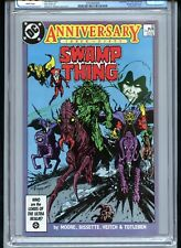 Swamp Thing #50 CGC 9.8 White Pages Justice League Dark