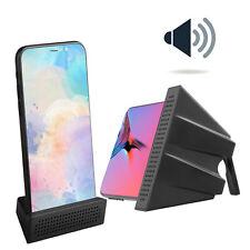 Portable Desktop Universal Phone Sound Amplifier Holder Stand For Smartphones US