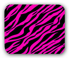 Pink Black Zebra Mousepad Anti-Slip Mouse Pad Mat Mice Mousepad