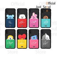 Official BTS BT21 Card Pocket Bumper Phone Case Cover+Freebie+Tracking Kpop