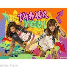 DISNEY'S SHAKE IT UP BIRTHDAY PARTY supplies (THANK YOU NOTES) FREE SHIPPING