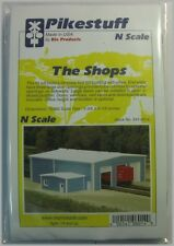 Pikestuff N Scale 541-8014 The Shops Building Kit
