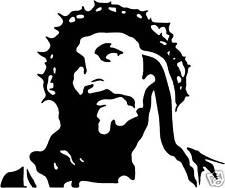 Religiosa Arte De Pared Jesus Imagen pegatina de vinilo calcomanía